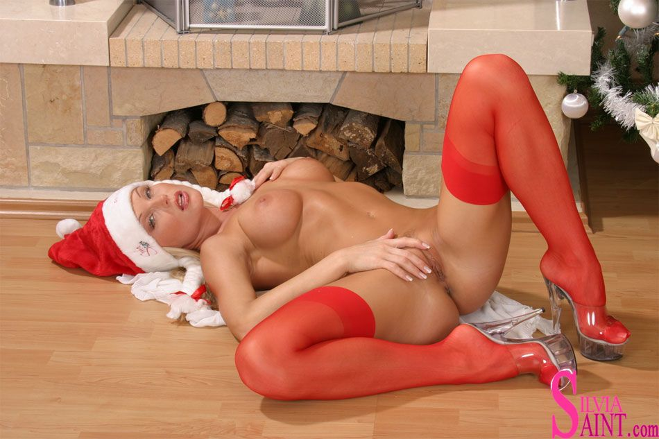 silvia saint in strumpf