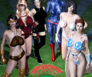 Superheroine Squad 1 - 23