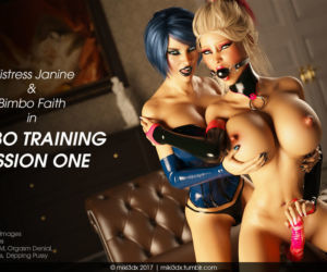 Miki3DX - Bimbo Training..