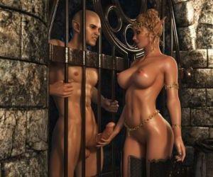 Elven Desire - Prison Perils..