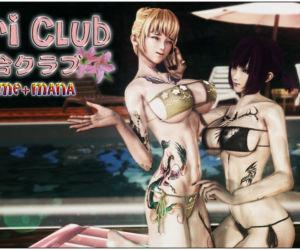 YURI CLUB--Ayame+Mana