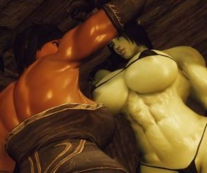 3D Skyrim Muscle Futa by..