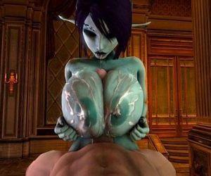 Soria huge boob tittyfuck..
