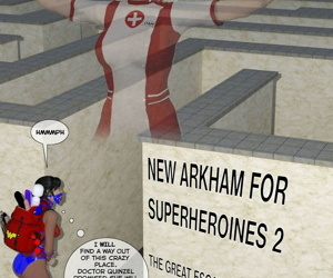 New Arkham for Superheroines..