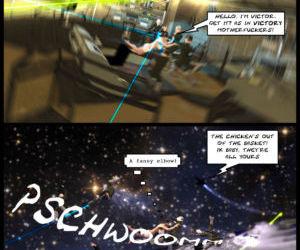 Project Bellerophon Comic..