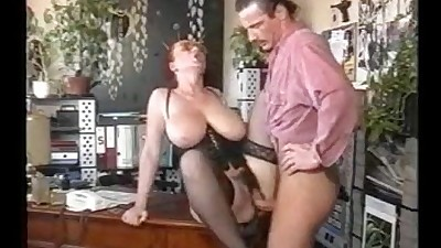 Amateur busty german mature dp mmf threesome 4