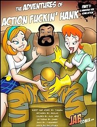 Jab Comix - Adventures of Action Fuckin' Hank
