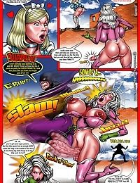 Miss Martian- Big Cock Shemale, Smudge
