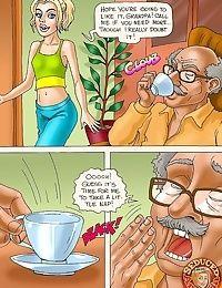 Grandpa Does His Best- Seduced Amanda