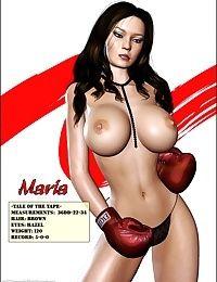 Foxy Boxing - Maria VS Victoria