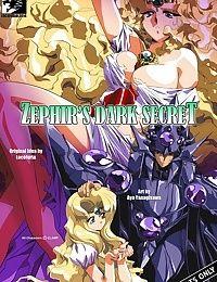 Zephir's Dark Secret (Magic Knight Rayearth)
