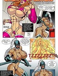 Omega Fighters 8 - Titania VS Dominatrix