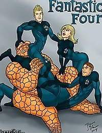 Iceman Blue- Fantastic Four