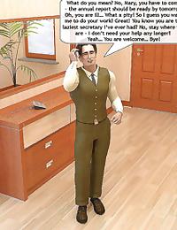 Dad's new secretary- Magic Incest