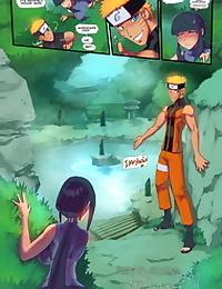 Fred Perry- Naruto X Hinata – Hotspring