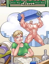 Muscle Fan – Strong Flavor 5