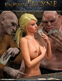 Hibbli3D – Knight Elayne – Strip Poker