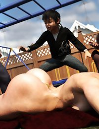 Morgan – Playground Fun- Zz2tommy - part 2