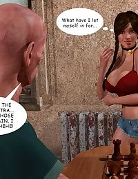 Lost Bet  Petra Helps The Elderly - part 3