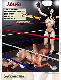 Foxy Boxing - Maria VS Victoria - part 2