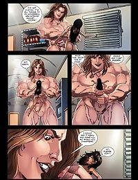 Dziewczyna mięśni
