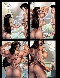 Músculo menina