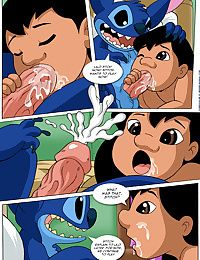 Lilo and Stitch- Lessons,Pal Comix