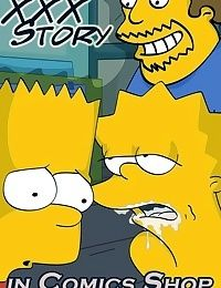 Simpsons - XXX Story in Comics