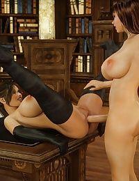 Blackadder- Dickgirls 06 - part 2