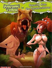 Welcomix- Jurassic Tribe 4- Running Tyrannosaurus
